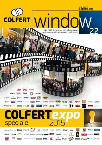 COLFERTwindow 22 - dicembre 2015