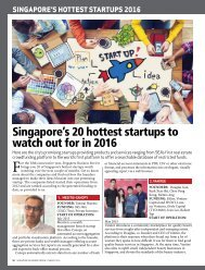 Singapore's 20 hottest startups to watch out for in 2016