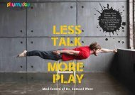 Less Talk More Play E-bog