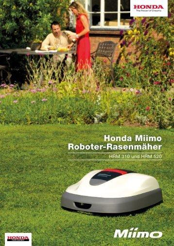 Honda Miimo Roboter-Rasenmäher