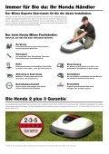 Honda Miimo Roboter-Rasenmäher - Seite 7