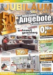 Wohnwelt Gevelsberg - Das Jubiläum des Jahres!