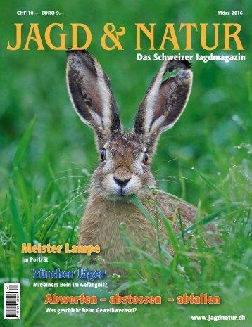 Jagd & Natur Ausgabe März 2016 | Vorschau