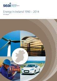 Energy in Ireland 1990 – 2014