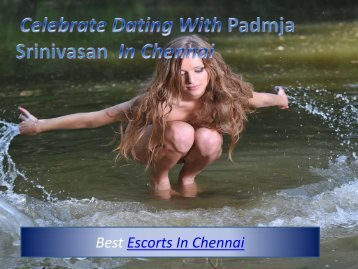 Celebrate dating With Padmaja in Chennai