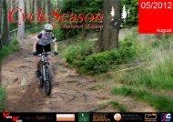 55km Trail - 6km Schiebepassage mit 38% Steigung - 38km Downhill