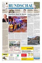Unsere Stadtzeitung Tübingen im Fokus Ausgabe 13.März 2015