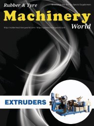 Extruders - A Special Supplement from Rubber & Tyre Machinery World