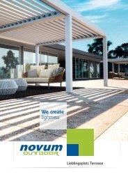 Novum OUTDOOR Katalog deutsch