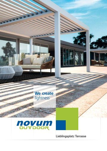 Novum OUTDOOR Katalog deutsch