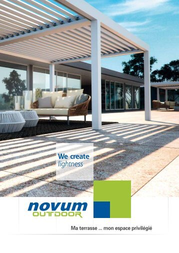 Novum OUTDOOR catalogue français