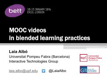 in blended learning practices
