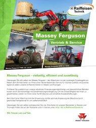 Massey Ferguson Vertrieb und Service