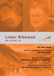 Linzer Bibelsaat Nr. 136