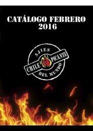 Chile Picante Ajíes del Mundo Catálogo Febrero 2016