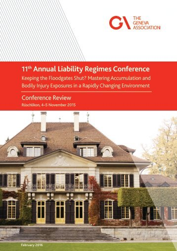 Annual Liability Regimes Conference