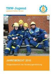 Jahresbericht 2010 - THW-Jugend eV