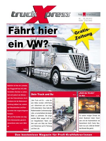 LKW-Fahrer Horoskop Juni 2012 - truck-Xpress