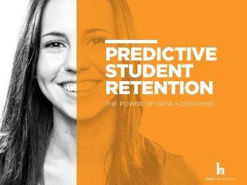 PREDICTIVE STUDENT RETENTION