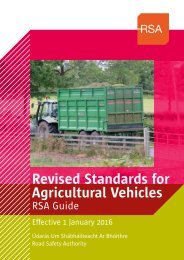 Revised Standards for Agricultural Vehicles