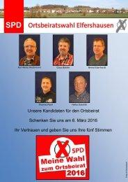 Unsere Kandidaten für den Ortsbeirat Elfershausen