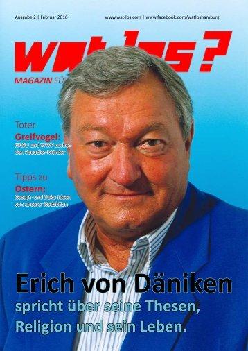Wat Los? / Ausgabe 2 - 2016