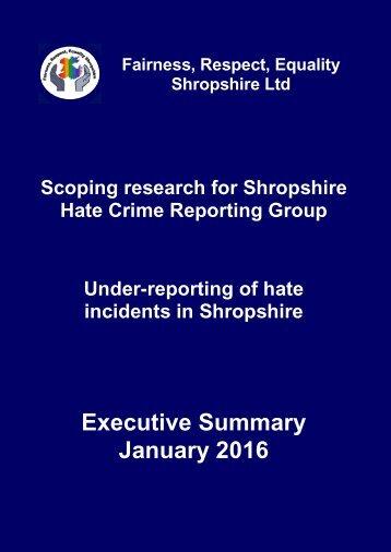 Executive Summary January 2016