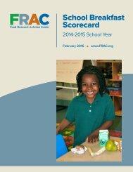School Breakfast Scorecard