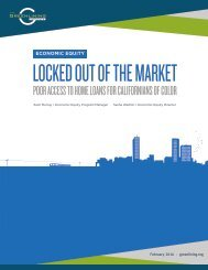 LOCKED OUT OF THE MARKET