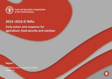 2015–2016 El Niño