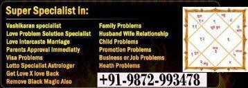 VASHIKARAN  specialist Babaji +9198729-93478