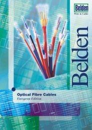 Belden Optical Fibre Cables Universal (outdoor ... - Meditronik