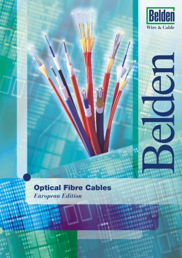 Belden Optical Fibre Cables Universal (outdoor ... - Meditronik