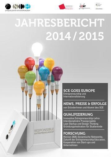 SCE Jahresbericht 2014/2015