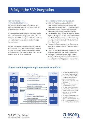 Erfolgreiche SAP-Integration
