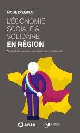 L'ÉCONOMIE SOCIALE & SOLIDAIRE EN RéGION