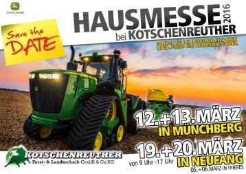 Messeheft Neufang/Münchberg