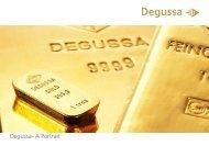 Degussa company presentation