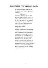 Loosdrecht huizenkohier Verpondingen 1731