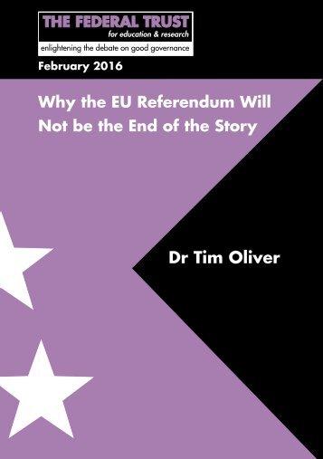 Dr Tim Oliver