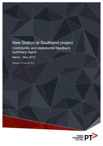 New Station at Southland project