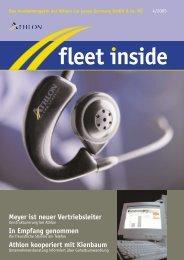 Meyer ist neuer Vertriebsleiter In Empfang ... - Athlon Car Lease