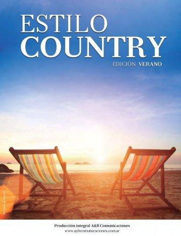 ESTILO COUNTRY  Edición verano 2016