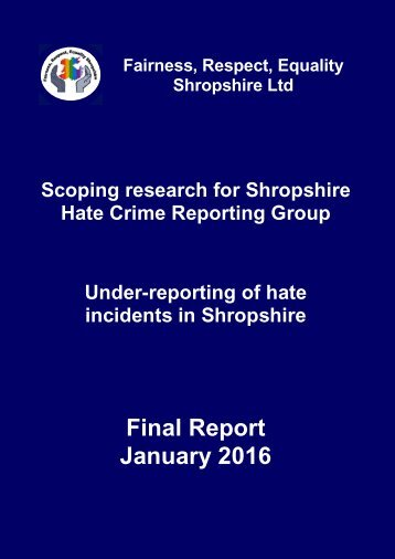 Final Report January 2016