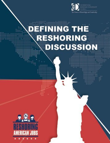 DEFINING THE RESHORING DISCUSSION