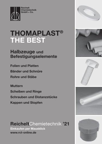 RCT Reichelt Chemietechnik GmbH + Co. - Thomaplast THE BEST Halbzeuge und Befestigungselemente
