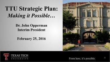 TTU Strategic Plan