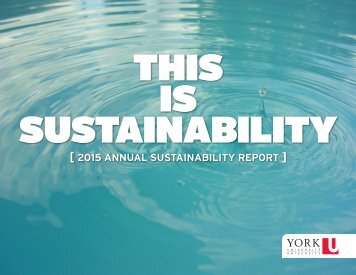 THIS IS SUSTAINABILITY