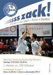 Ssssssszack! HGHB vs. TSV Ellerbek