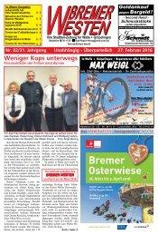 BREMER WESTEN - Ausgabe für März 2016